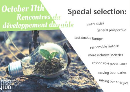 Les Rencontres du Développement Durable à Audencia