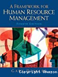 A framework for human resource management.