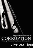 Organizational immunity to corruption
