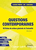 Questions contemporaines
