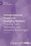 Entrepreneurial finance in emerging markets