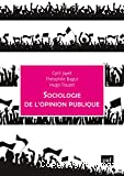 Sociologie de l'opinion publique