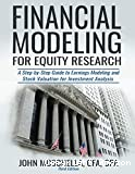 Financial modeling for equity research