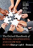 The Oxford handbook of mutual, cooperative, and co-owned business