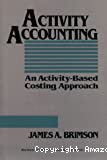 Activity accounting