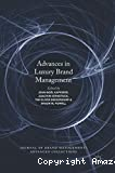 Advances in luxury brand management