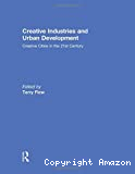 Creative industries and urban development